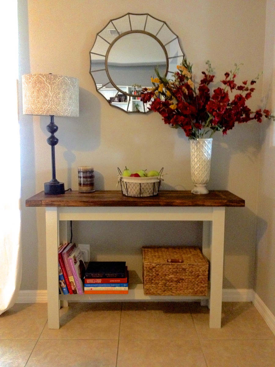 Ana White Knock Off Hyde Console Table Diy Projects