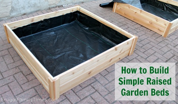 Ana White How to Build Simple Raised Garden Beds DIY