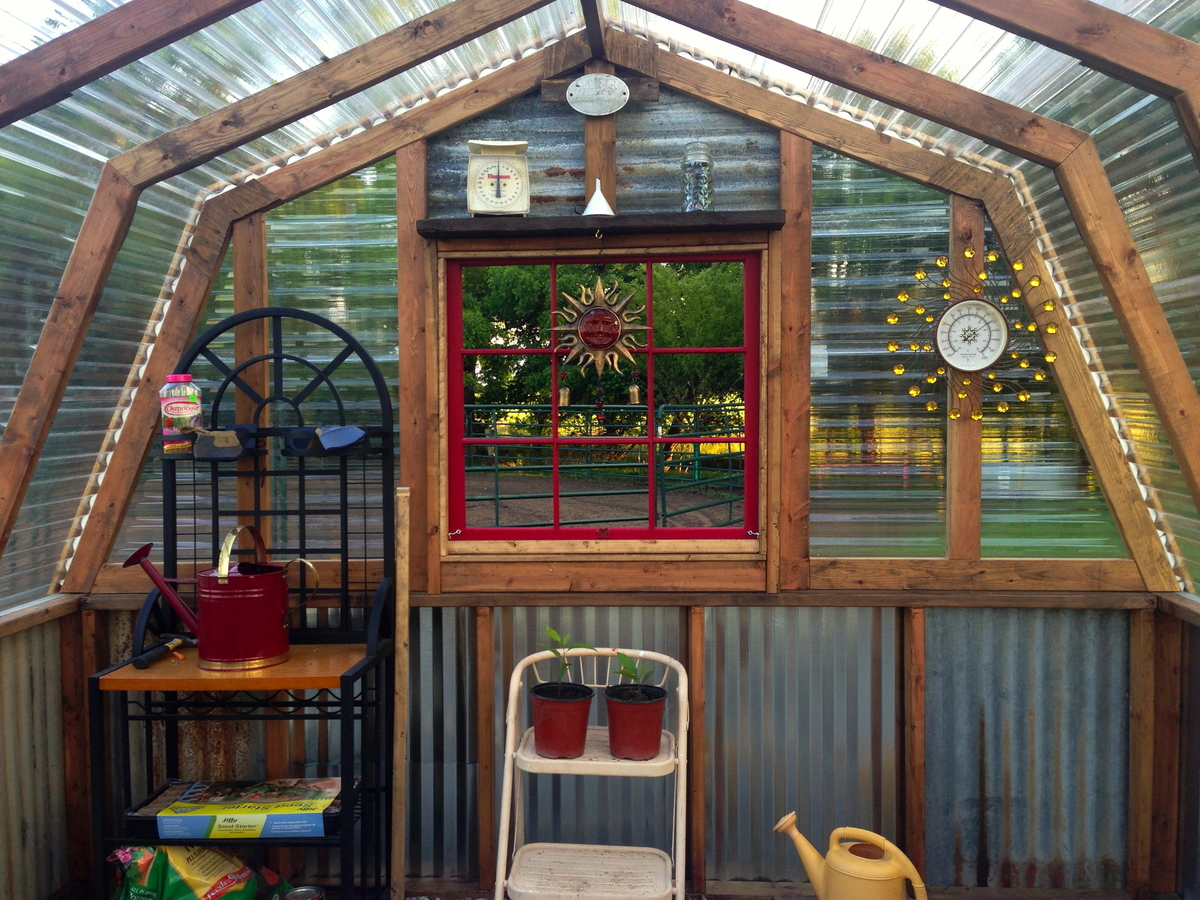 Do It Yourself Home Design: Our Greenhouse:) - DIY Projects