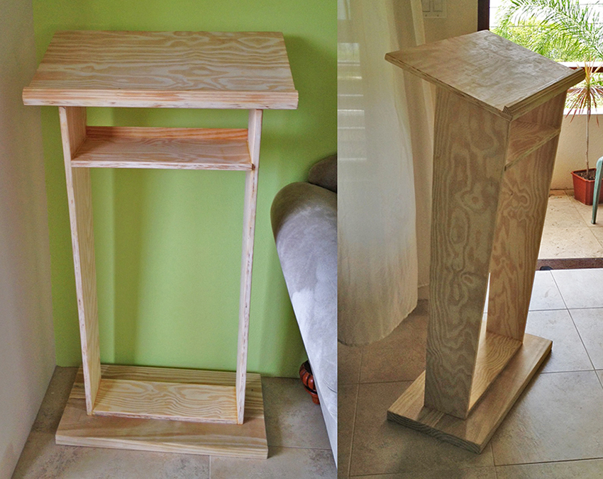 Ana white church pulpit diy projects church pulpit malvernweather Image collections