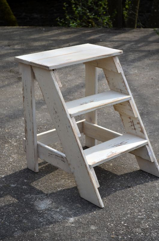 Stupendous Vintage Step Stool End Table In 1 1 And 1 12 Ana White Gamerscity Chair Design For Home Gamerscityorg