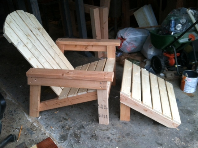 Ana White Adirondack Chair Home Depot Version Diy