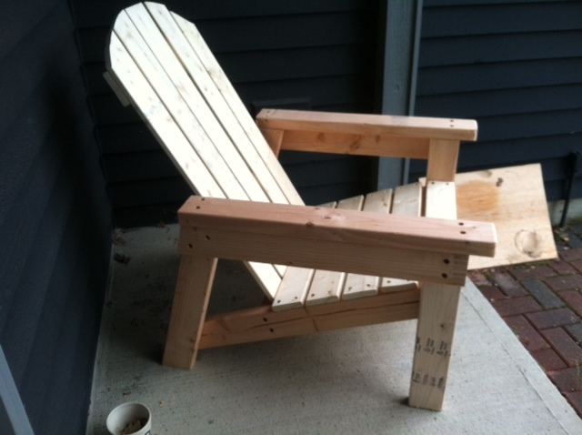 Exceptionnel Adirondack Chair (Home Depot Version)