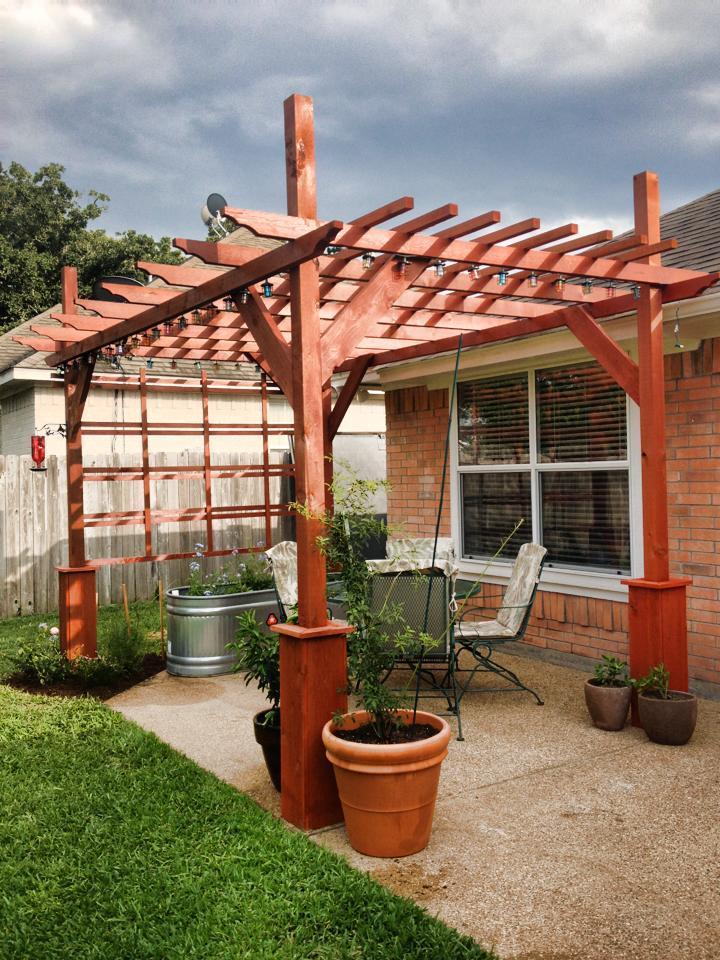 Roof Design Ideas: Pergola - DIY Projects