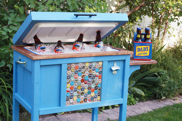 Ana White Wood Cooler By Birds And Soap Diy Projects
