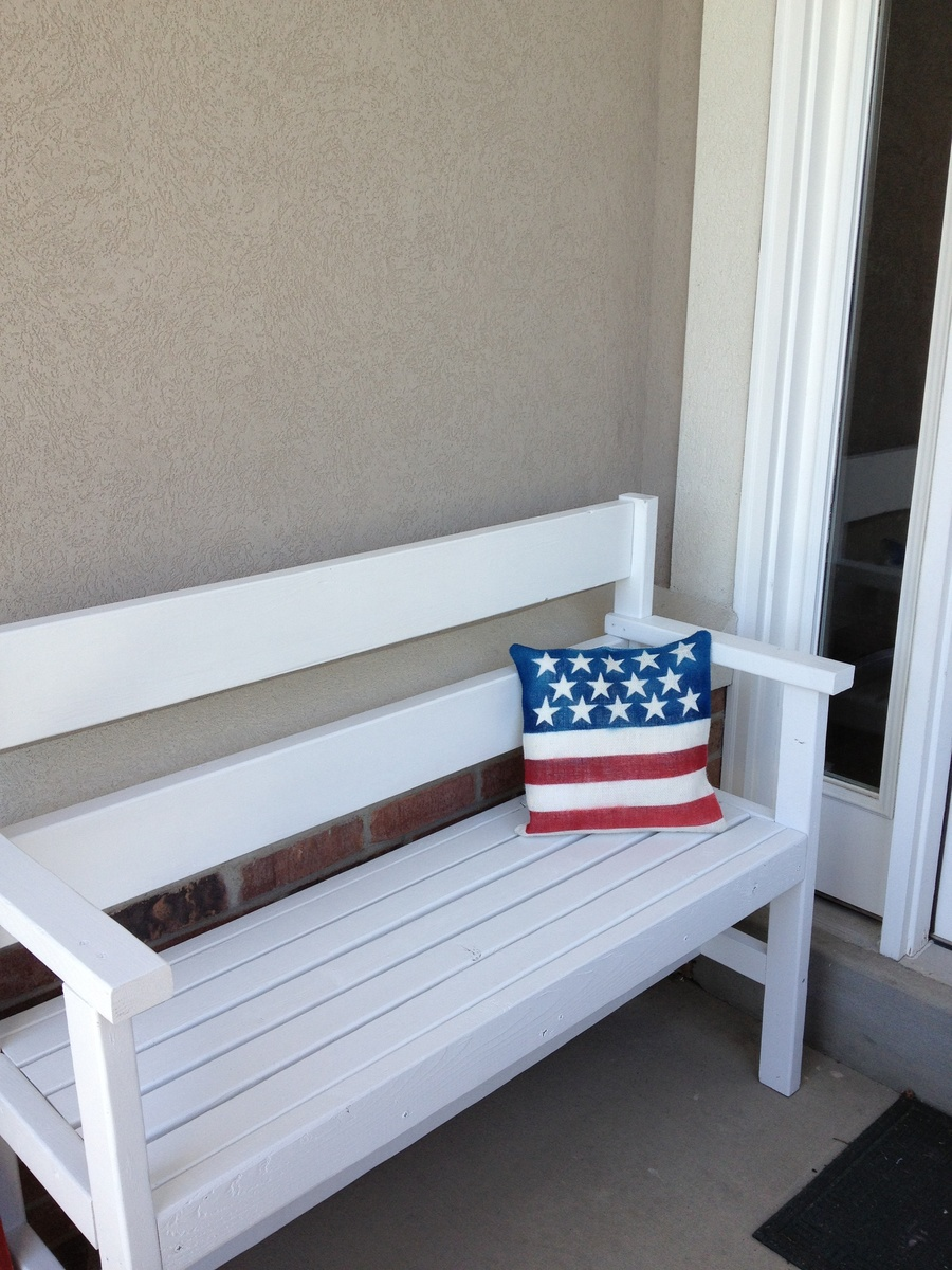 Ana White Porch Bench Diy Projects