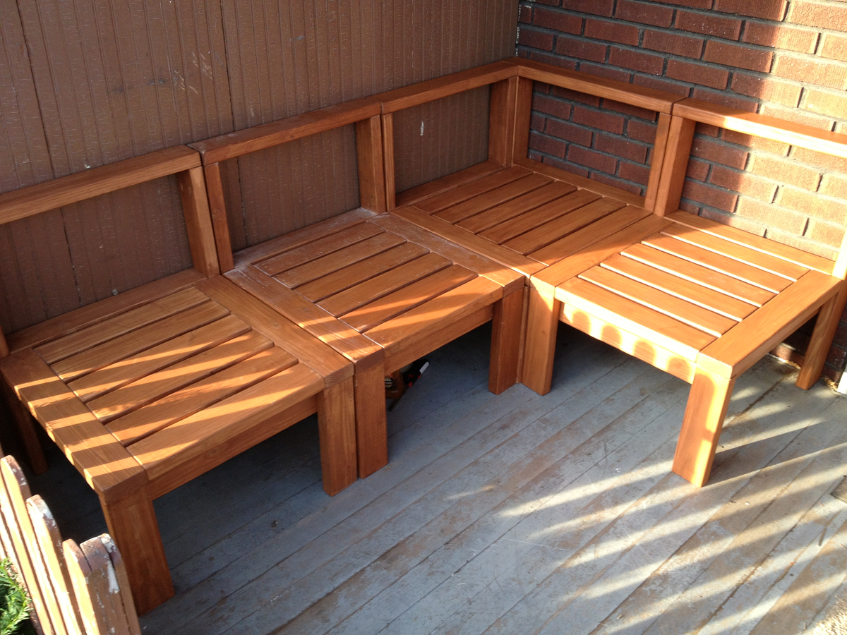 Build patio furniture home design ideas and pictures for Homemade 2x4 furniture