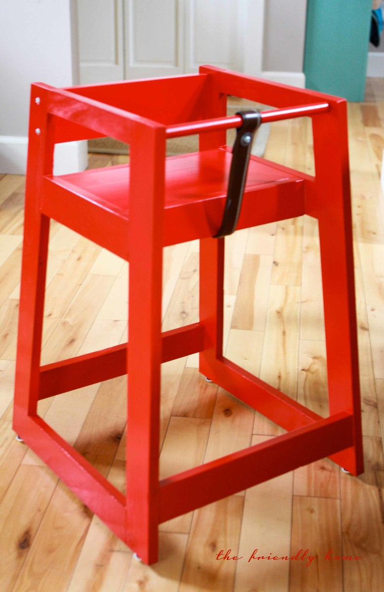 Incroyable Restaurant High Chair From Scraps