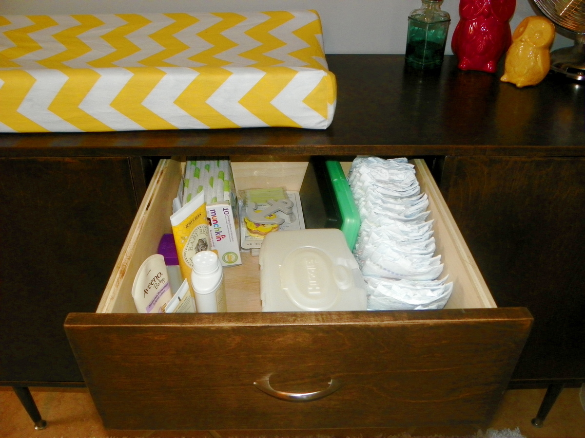 Ana White Mid Century Modern Changing Table Diy Projects