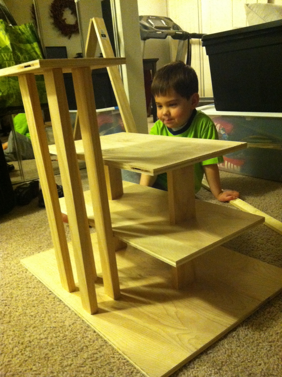 Ana White | Wooden Play Parking Garage - DIY Projects