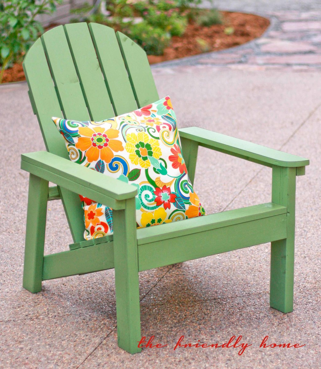 Green Adirondack Chairs Ana White