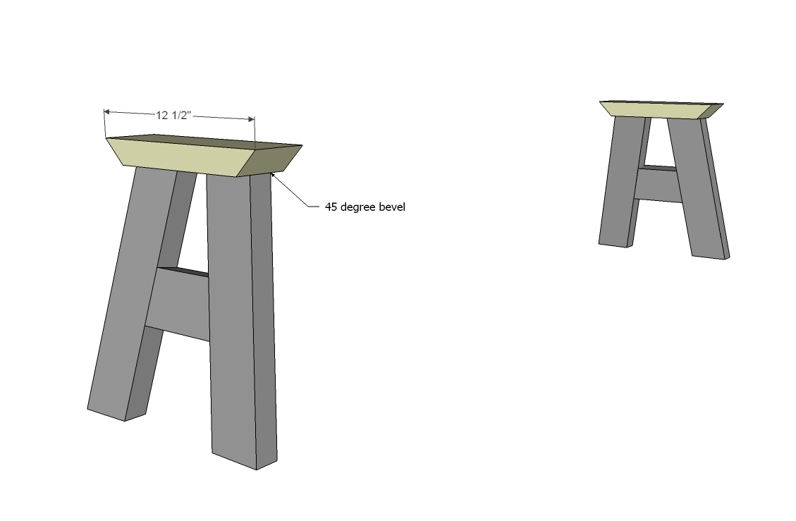 Sawhorse Plans 2x6 House Design And Decorating Ideas
