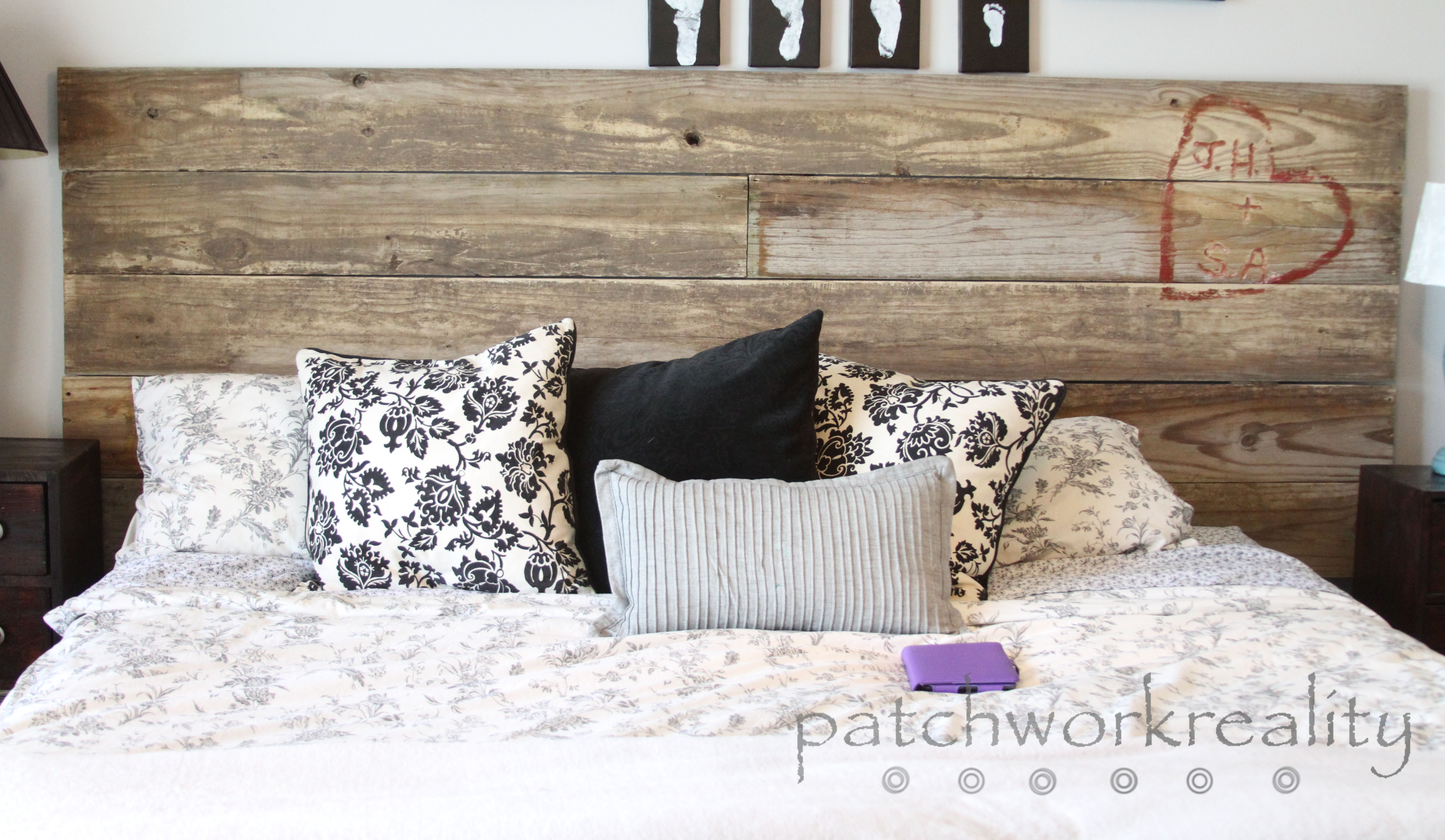 Repurposed Rustic King Size Headboard