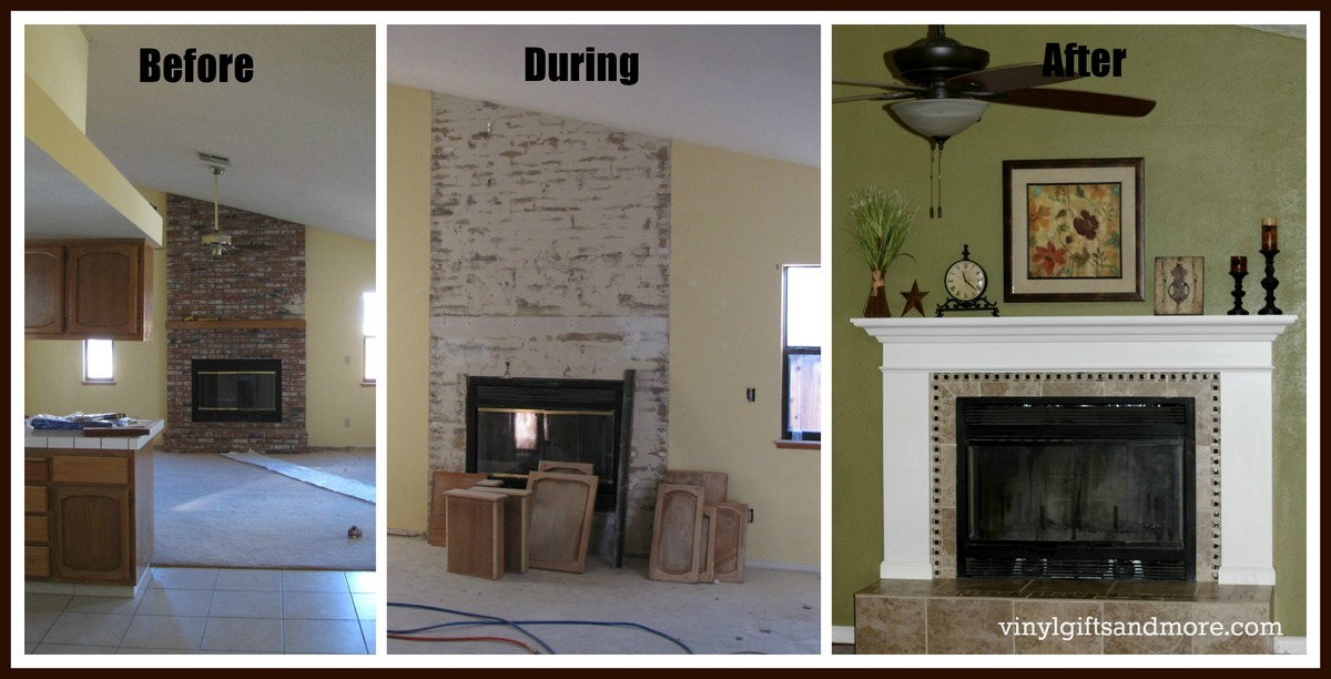 Ana white fireplace remodel diy projects fireplace remodel solutioingenieria Gallery