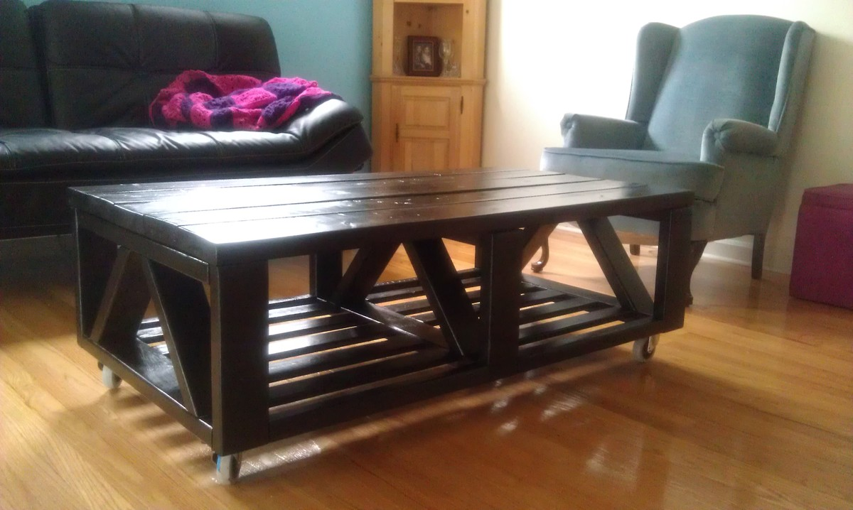 Ana White My Triple Truss Coffee Table Diy Projects