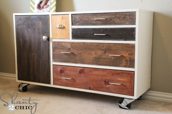 DIY West Elm Patchwork Dresser Plans   Build It Yourself And Save!