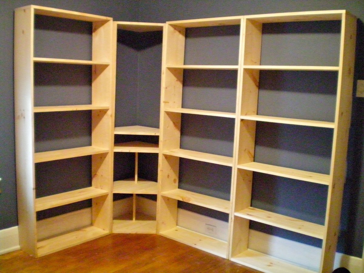 Wall Of Bookshelves ana white | bookshelf wall unit - diy projects