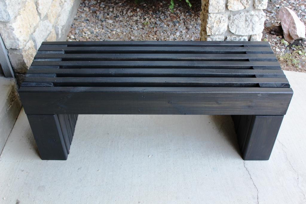 Outdoor Wood Bench Part - 39: Ana White