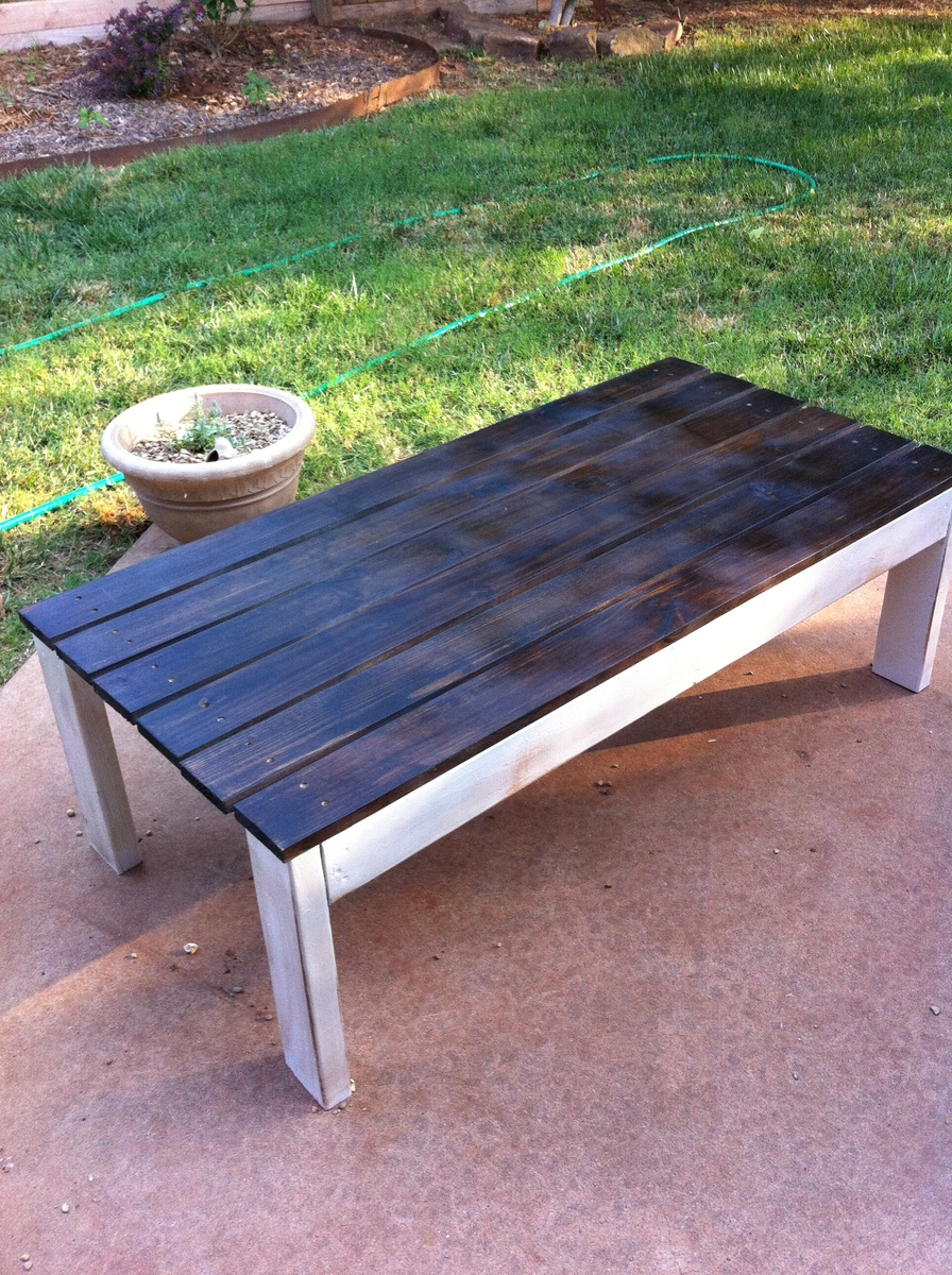 Elegant Adirondack Coffee Table