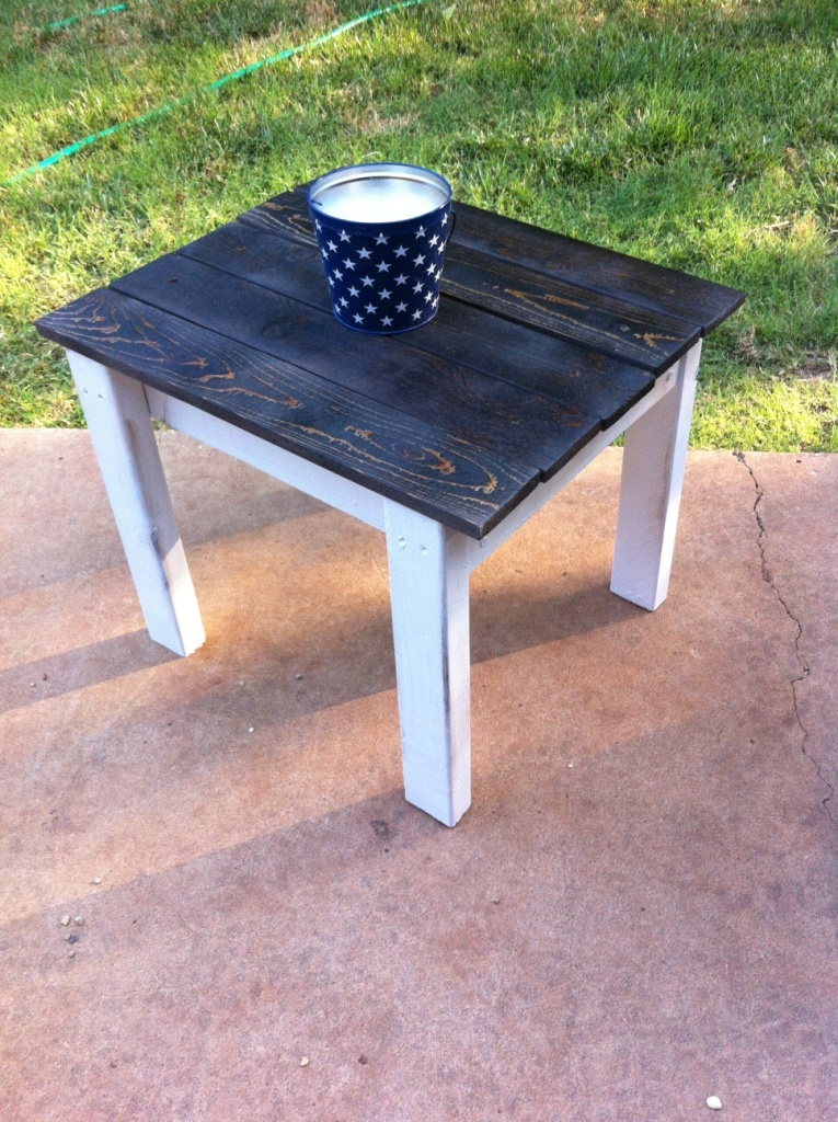 Ana white adirondack side table diy projects for Adirondack side table plans
