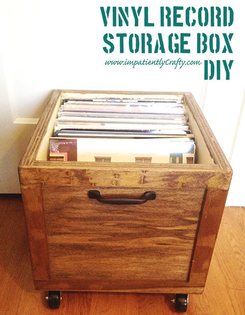 DIY LP Vinyl Record Storage Box with Wheels  sc 1 st  Ana White & Ana White | DIY LP Vinyl Record Storage Box with Wheels - DIY Projects