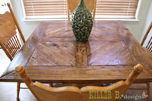 handmade dining table plans 1