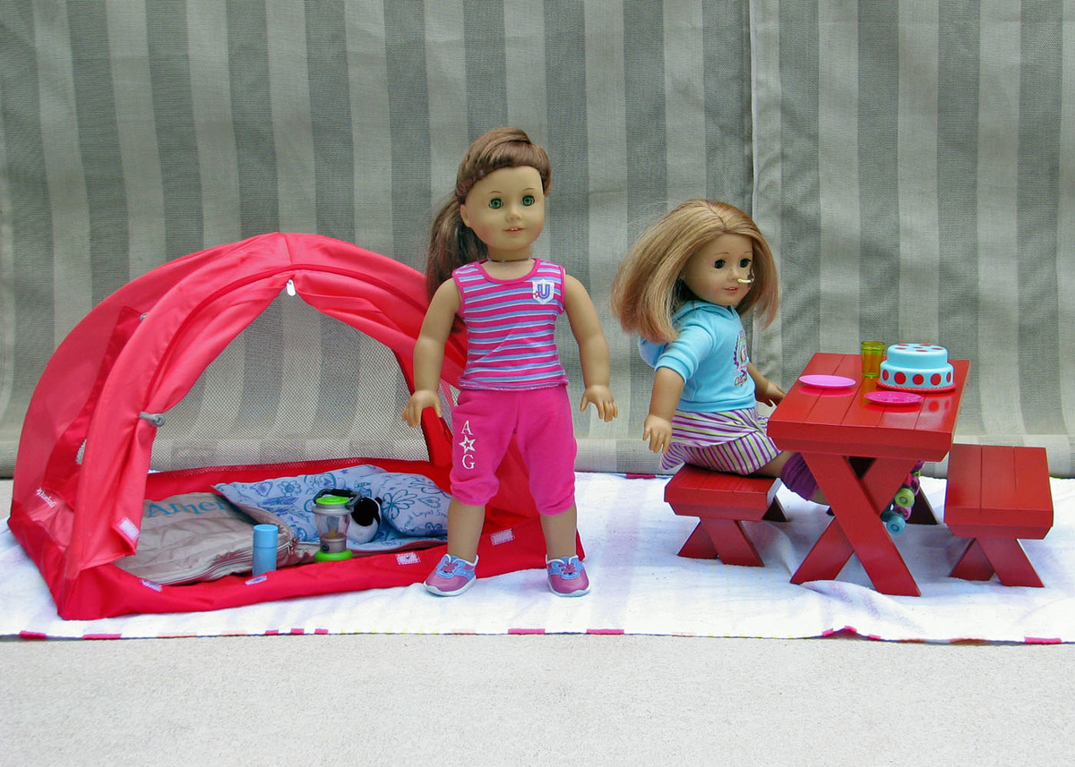Ana White American Girl Picnictable Diy Projects