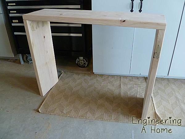 Malm sofa table we love a good makeover check out this re for Ikea malm console table