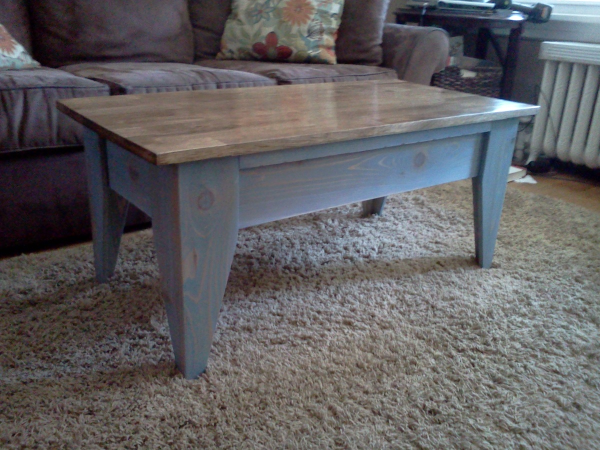 Ana White Coffee Table With Flip Top Diy Projects