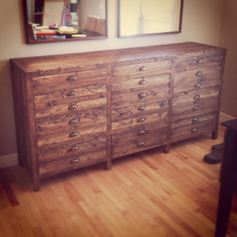 Ana White Printmaker Sideboard Diy Projects