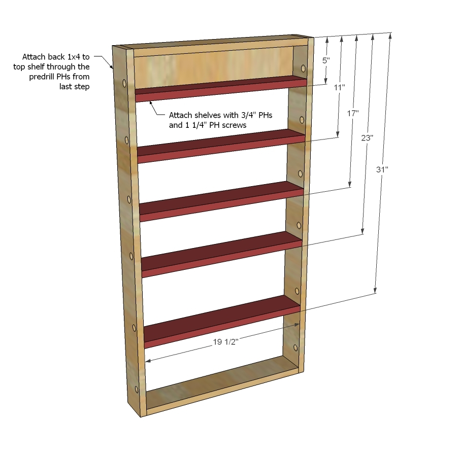 Woodworking Plans Spice Rack Plans Pdf Plans