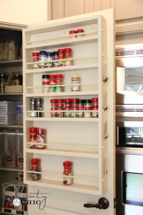 Ana White | Door Spice Rack - DIY Projects