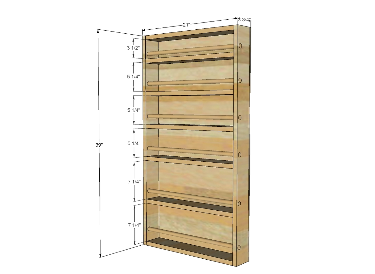Build A Spice Rack Plans Pdf Woodworking