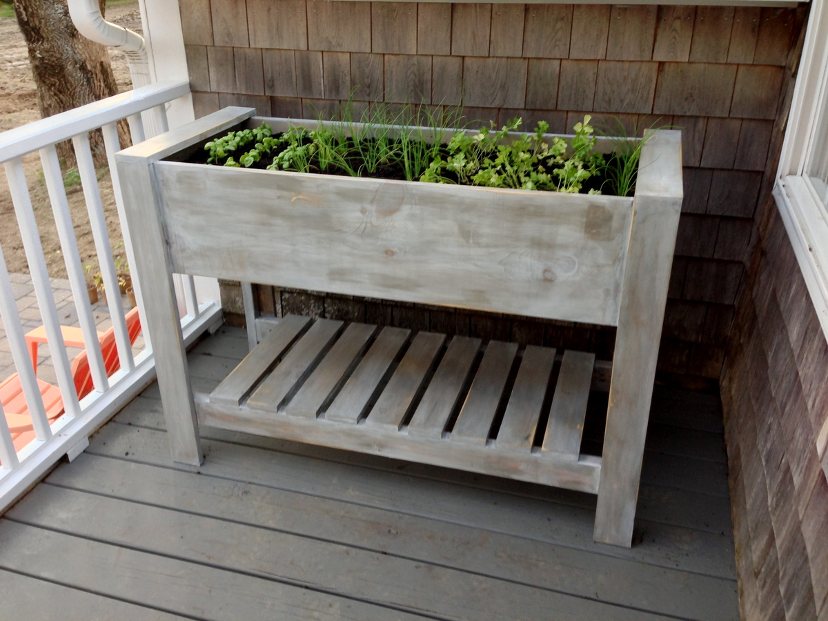 Elevated planter boxes diy crafts for Garden planter plans