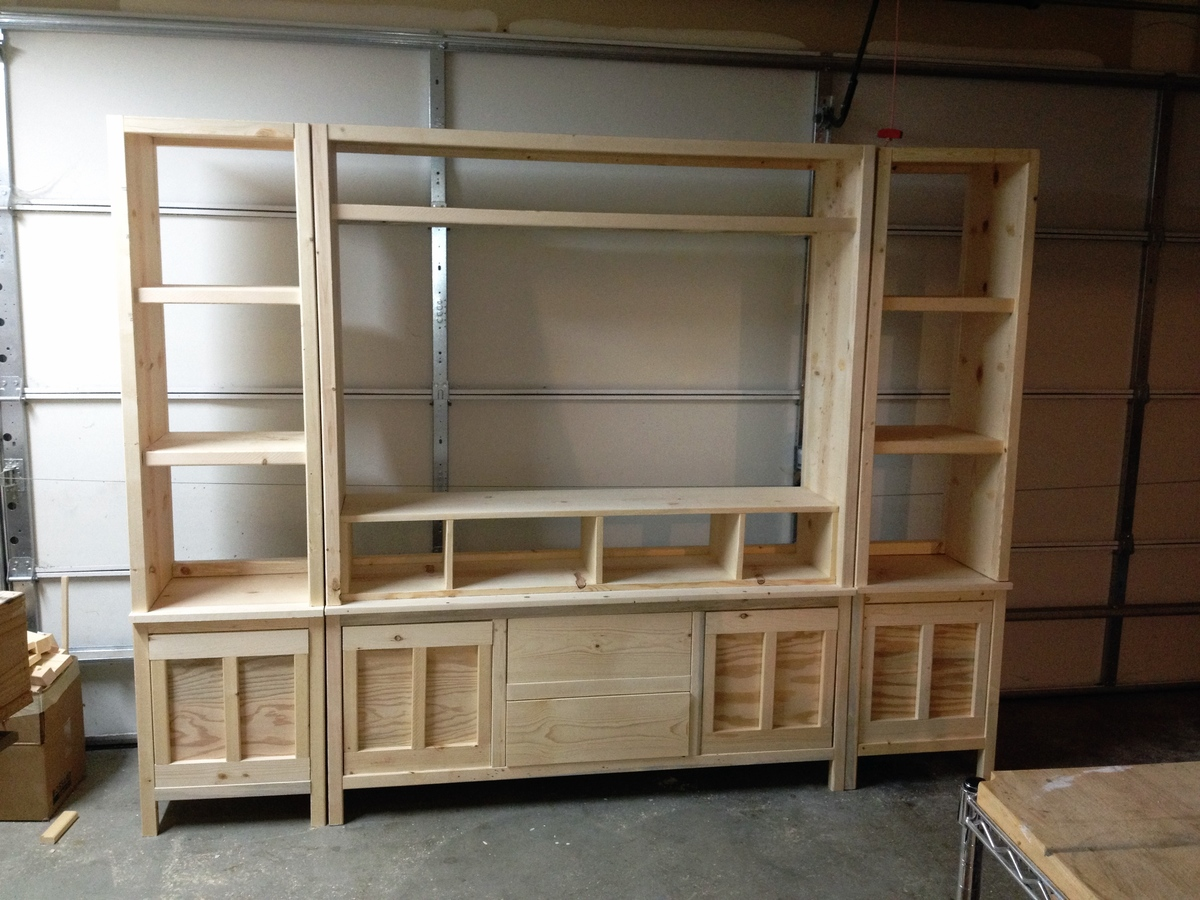 White Wood Entertainment Center Part - 44: Entertainment Center