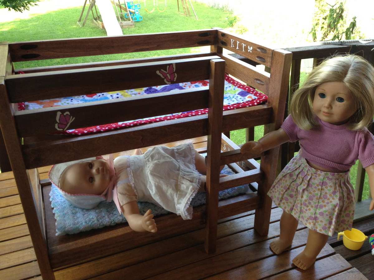 Ana White American Girl Doll Bunk Bed Diy Projects
