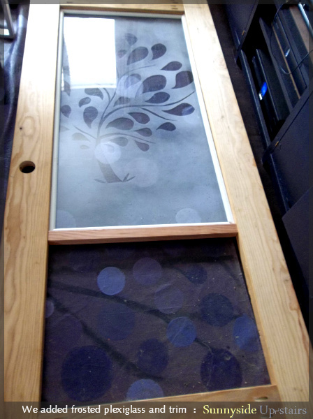 Ana White Frosted Plexiglass Entry Door Diy Projects