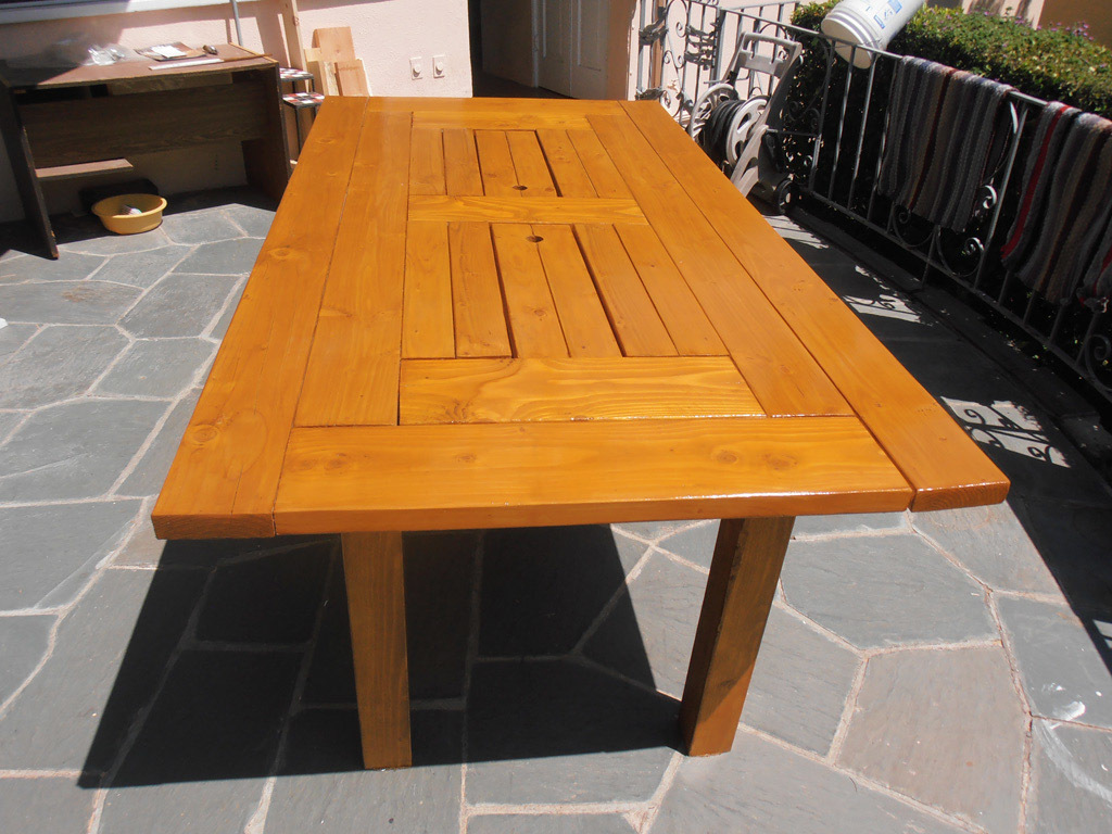 Patio Dining Table With Built In Drinks Cooler Ana White
