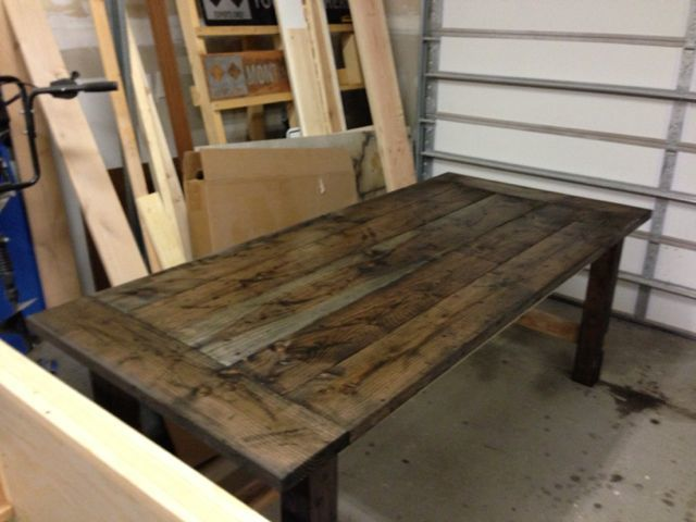 ana white farm style dining table diy projects