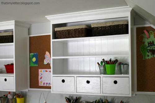 Schoolhouse Wall Hutch