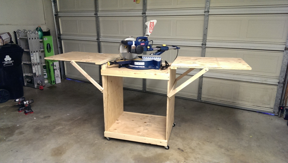 Miter Saw Table Diy Plans DIY Free Download platform storage bed plans ...