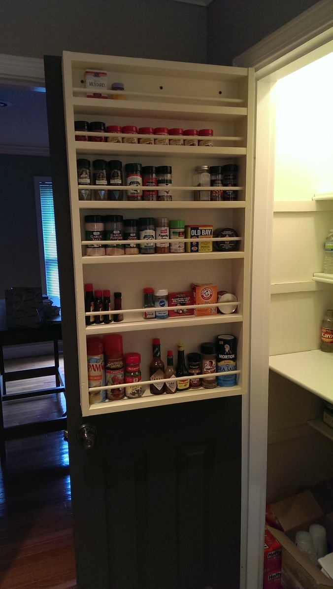 Ana White Pantry Spice Rack Diy Projects