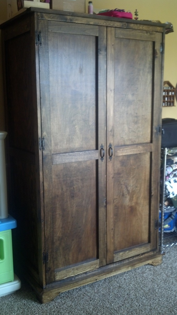 Ana White | Toy Armoire - DIY Projects