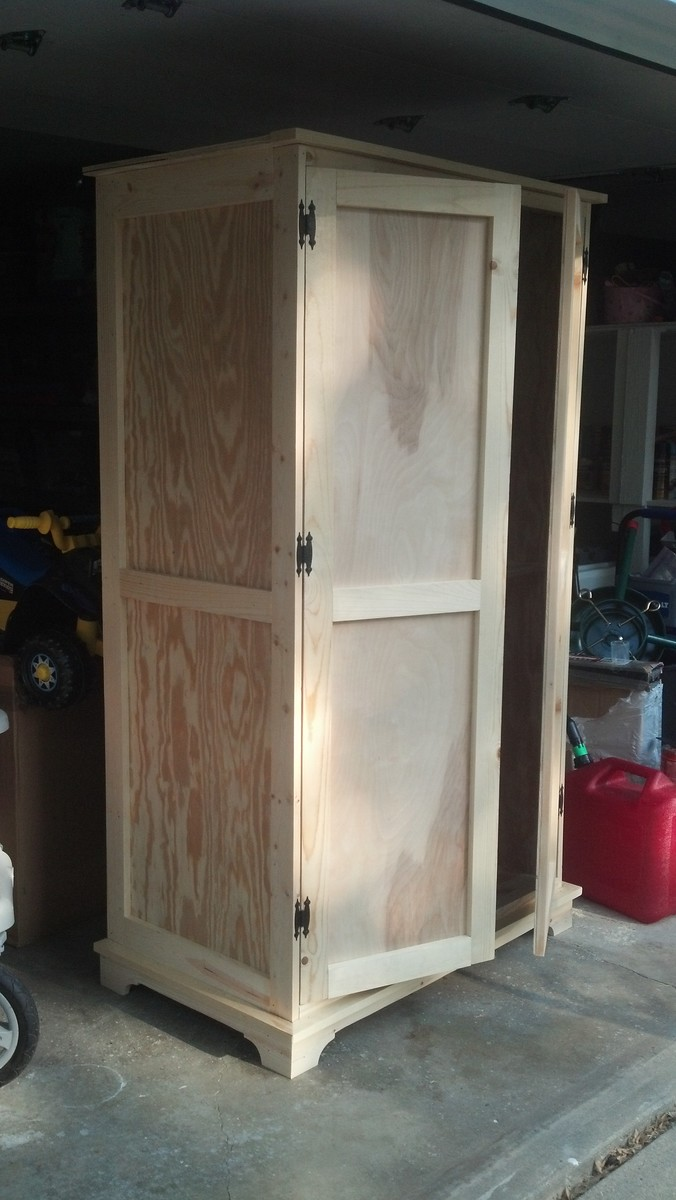 Ana White Toy Armoire Diy Projects