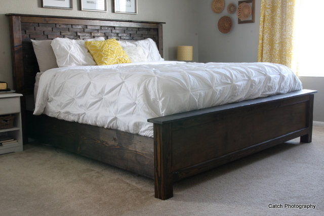 Good My friend Rebecca from Dreaming for More Hours in a Day wanted to create the perfet bed for her sister in law Inspired by wood shim artwork found on