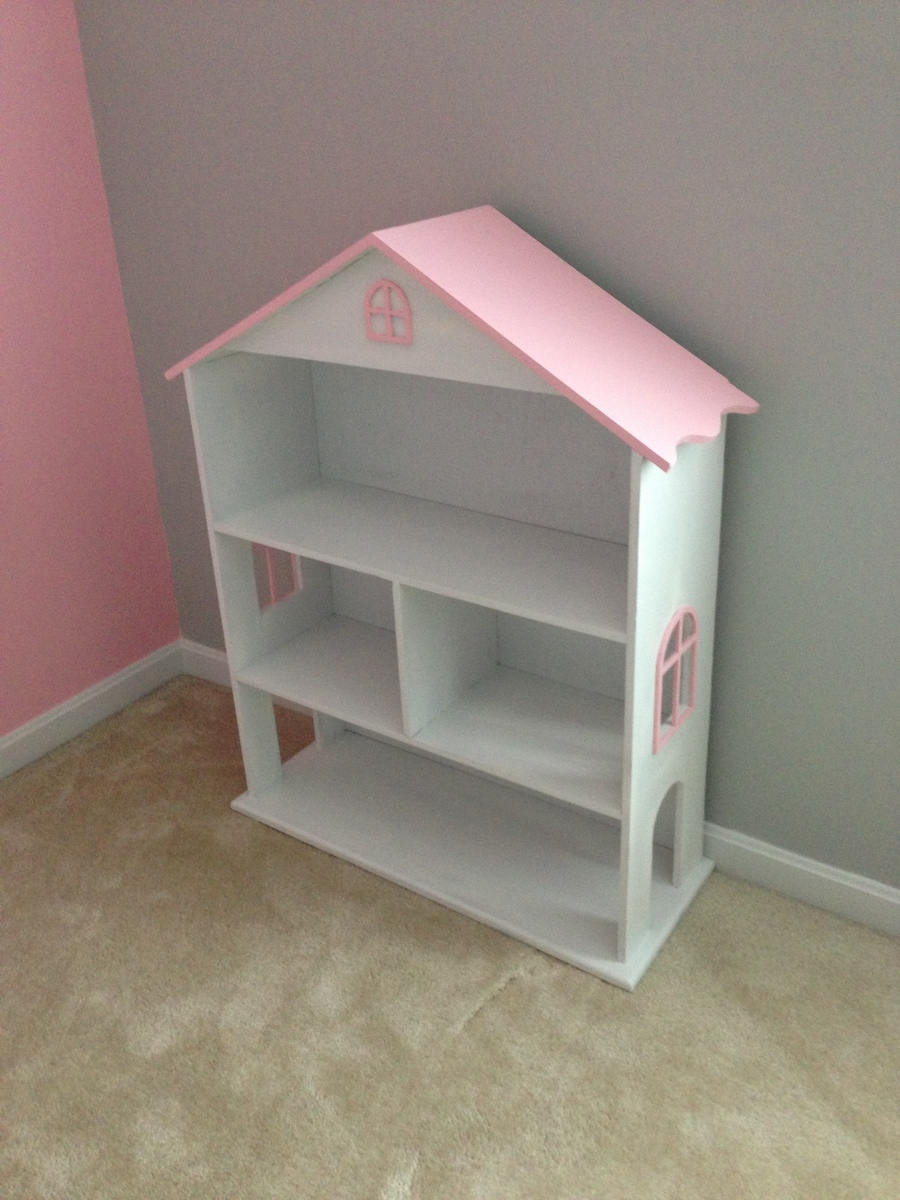 Ana White Modified Dollhouse Bookcase Diy Projects