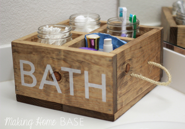 Ana's great Reclaimed Soda Crate Caddy plan I built the perfect wood ...