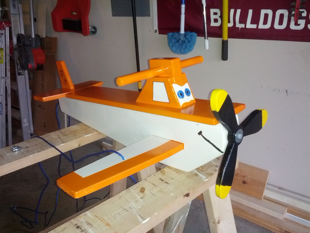 Ana white childs airplane swing diy projects solutioingenieria Gallery
