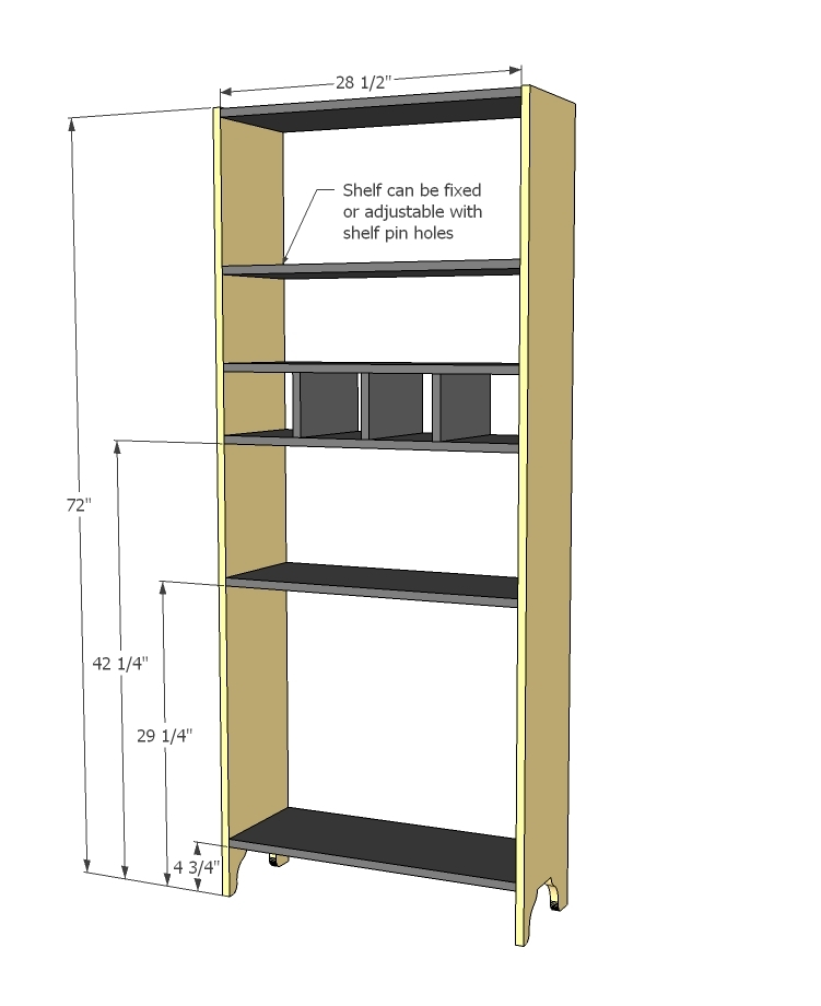 how to build a tall cabinet