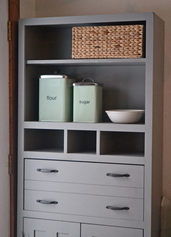 Tall Secretary Cabinet With Mail Slots